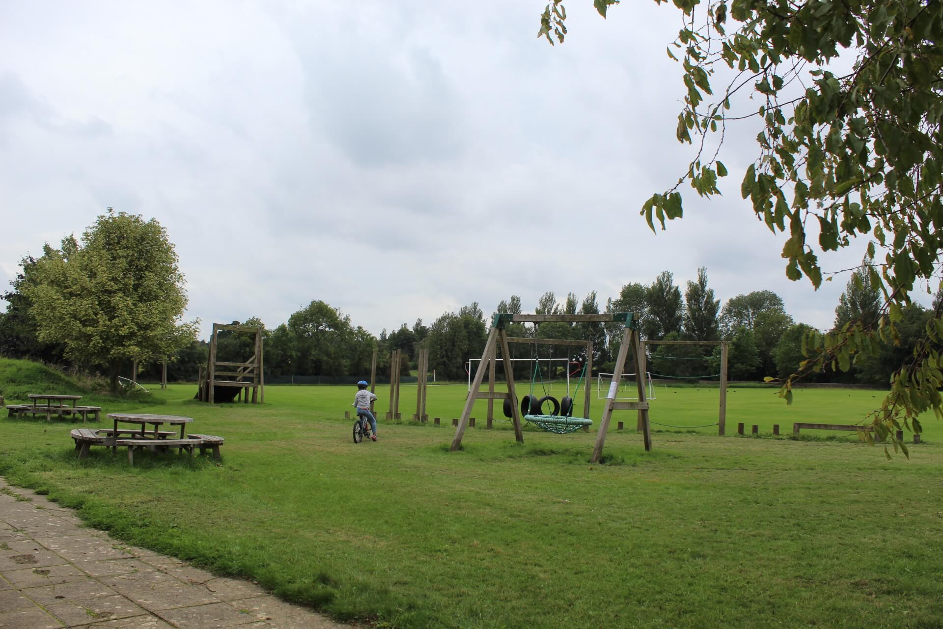 Playground at Didmarton Village Hall