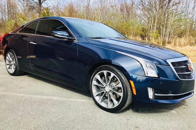 Cadillac ceramic coated in Charlotte