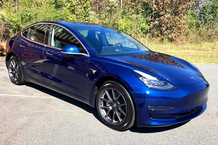 Glossy Tesla
