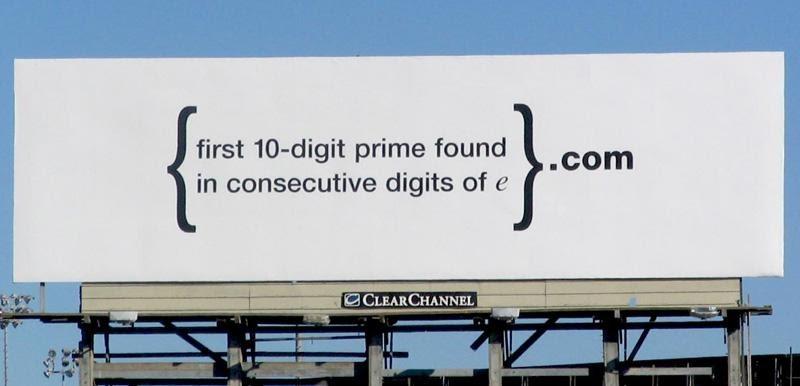 GOOGLE: The Puzzling Billboard