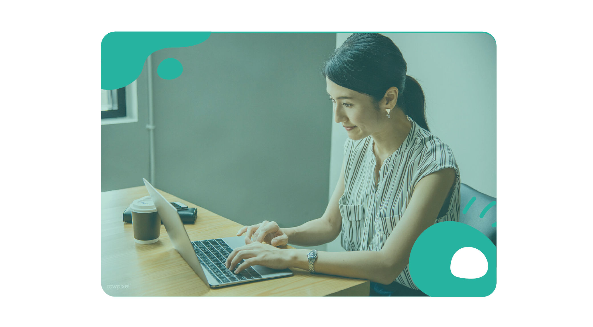 employee video chat working from home