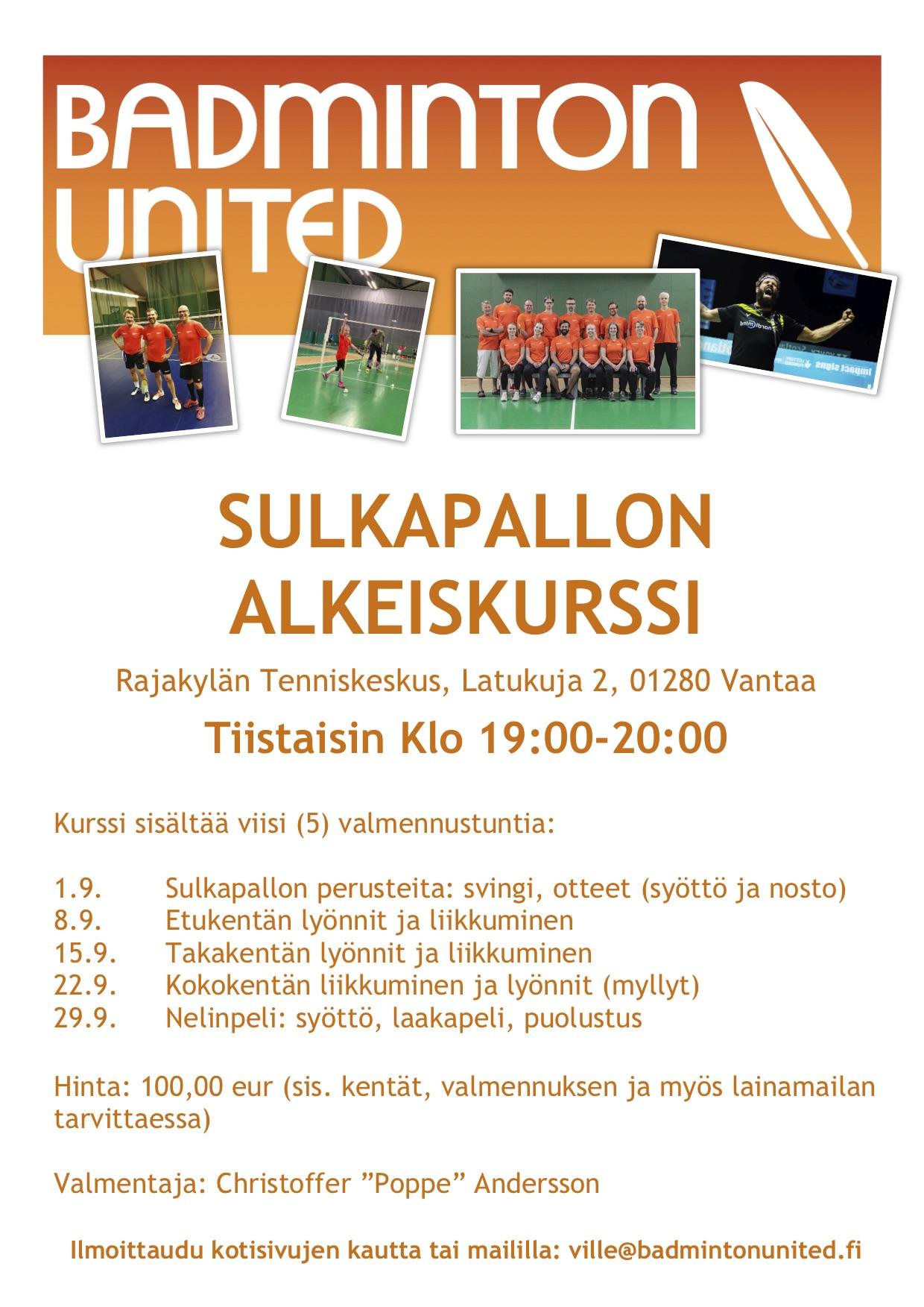 Syksyn ensimmäinen alkeiskurssi Vantaalla!