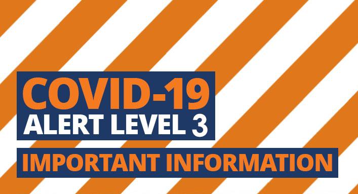 What Alert Level 3 will change