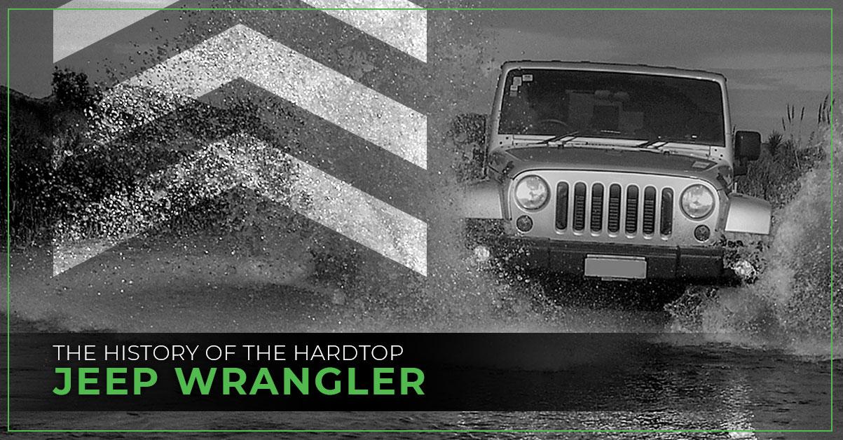 Jeep Wrangler Splashing through water