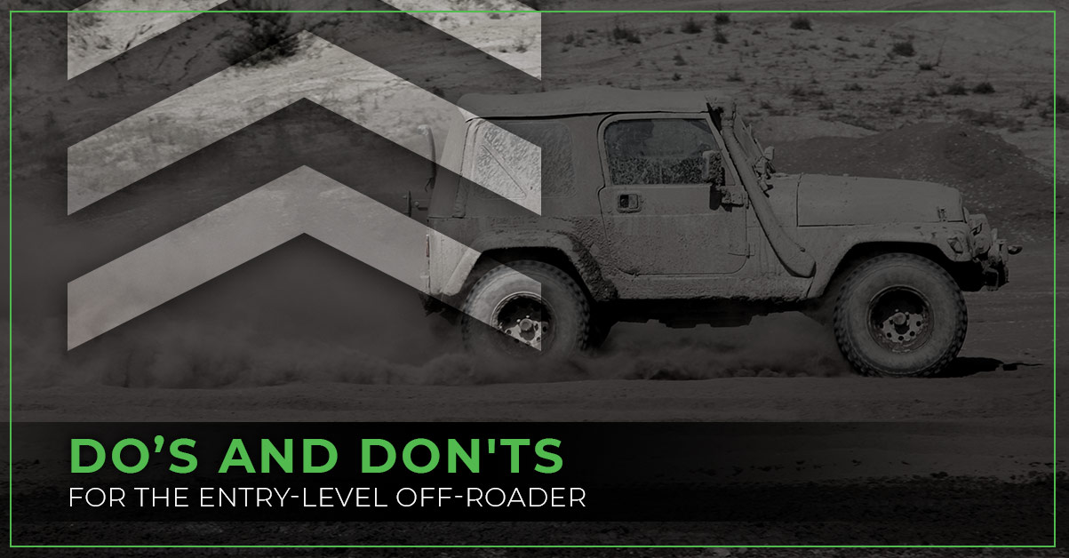 Do's and Dont's of Off Roading with a Jeep Wrangler