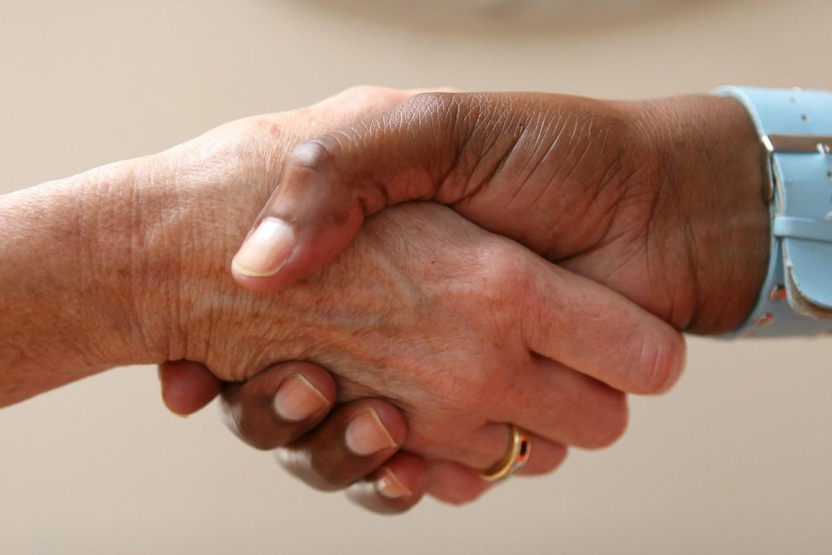 Nailing The Perfect Handshake