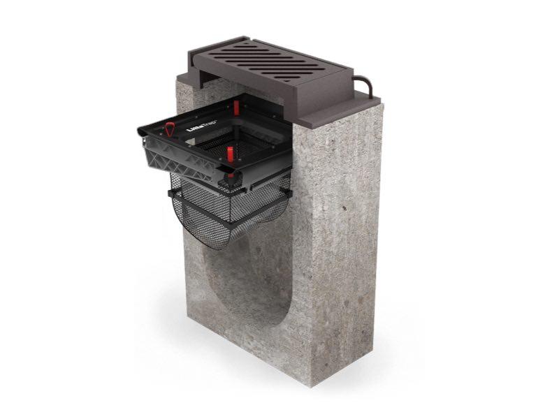 LIttaTrap drain grate with drain filter