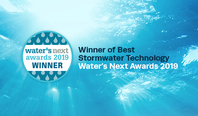 Enviropod wins 'Best Stormwater Technology' at Water's Next Awards