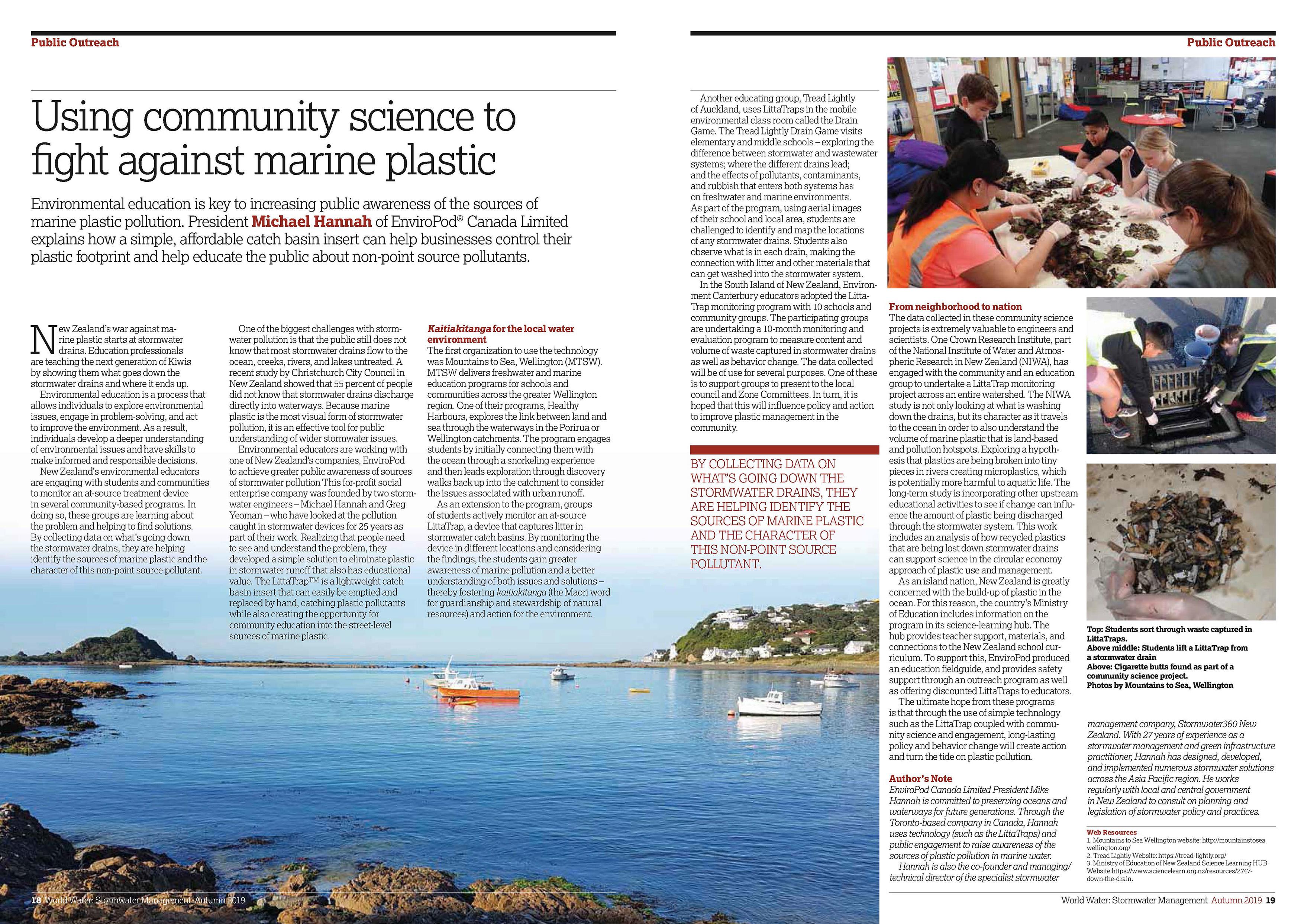 Using Community Science to Fight Marine Plastic