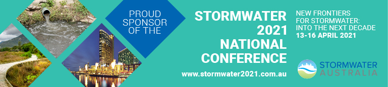 Proud Sponsor of the National Stormwater Conference