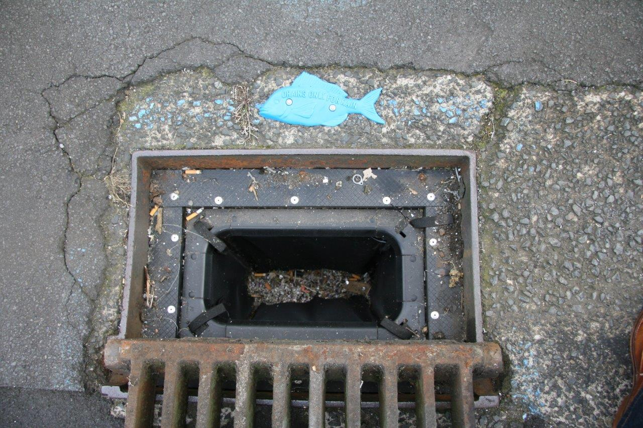 Going down the drain
