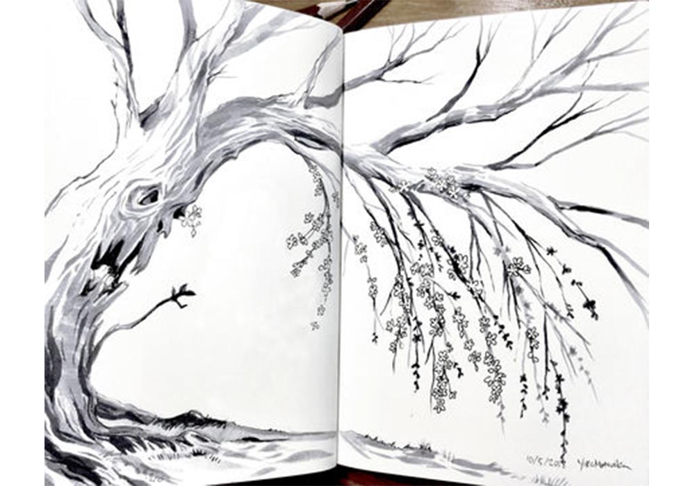 The Lonely Tree, story by Gabriella van Rij, art by Yoko Matsuoka