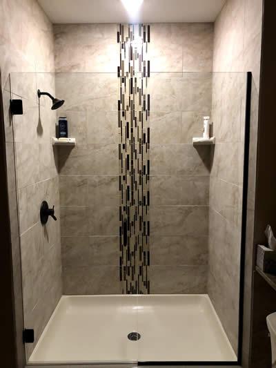 Custom bathroom by EL Builders