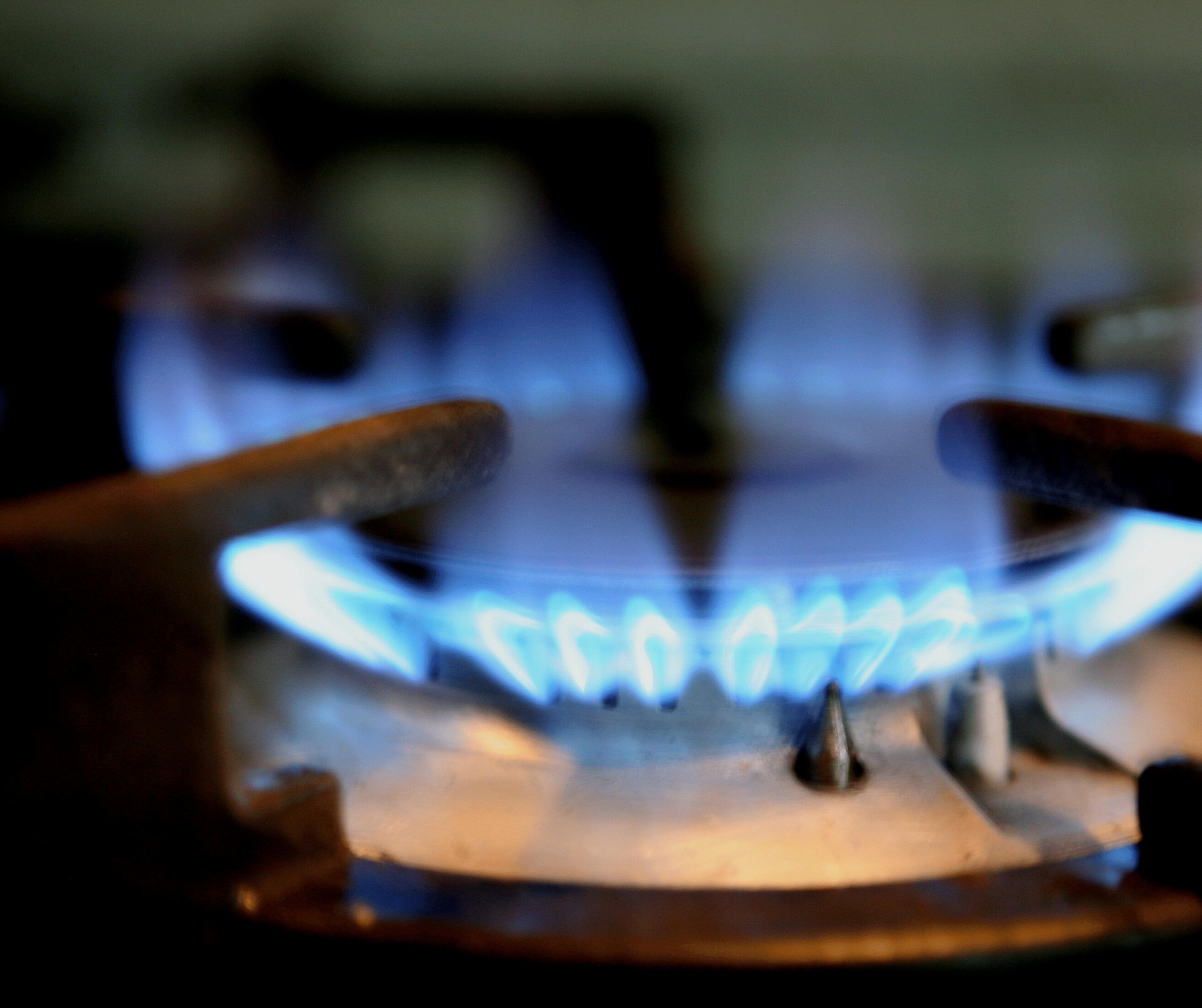 Gas registered