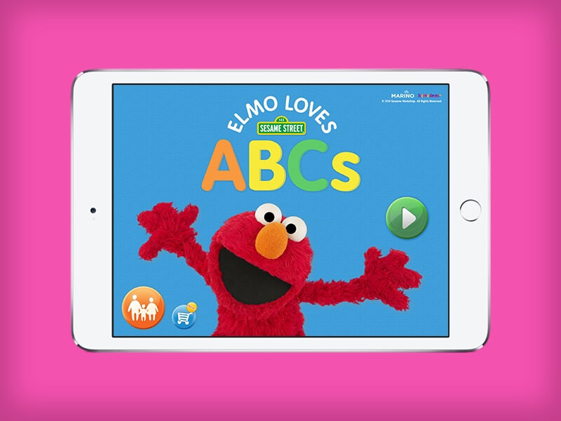 Our Work - Elmo loves ABCs