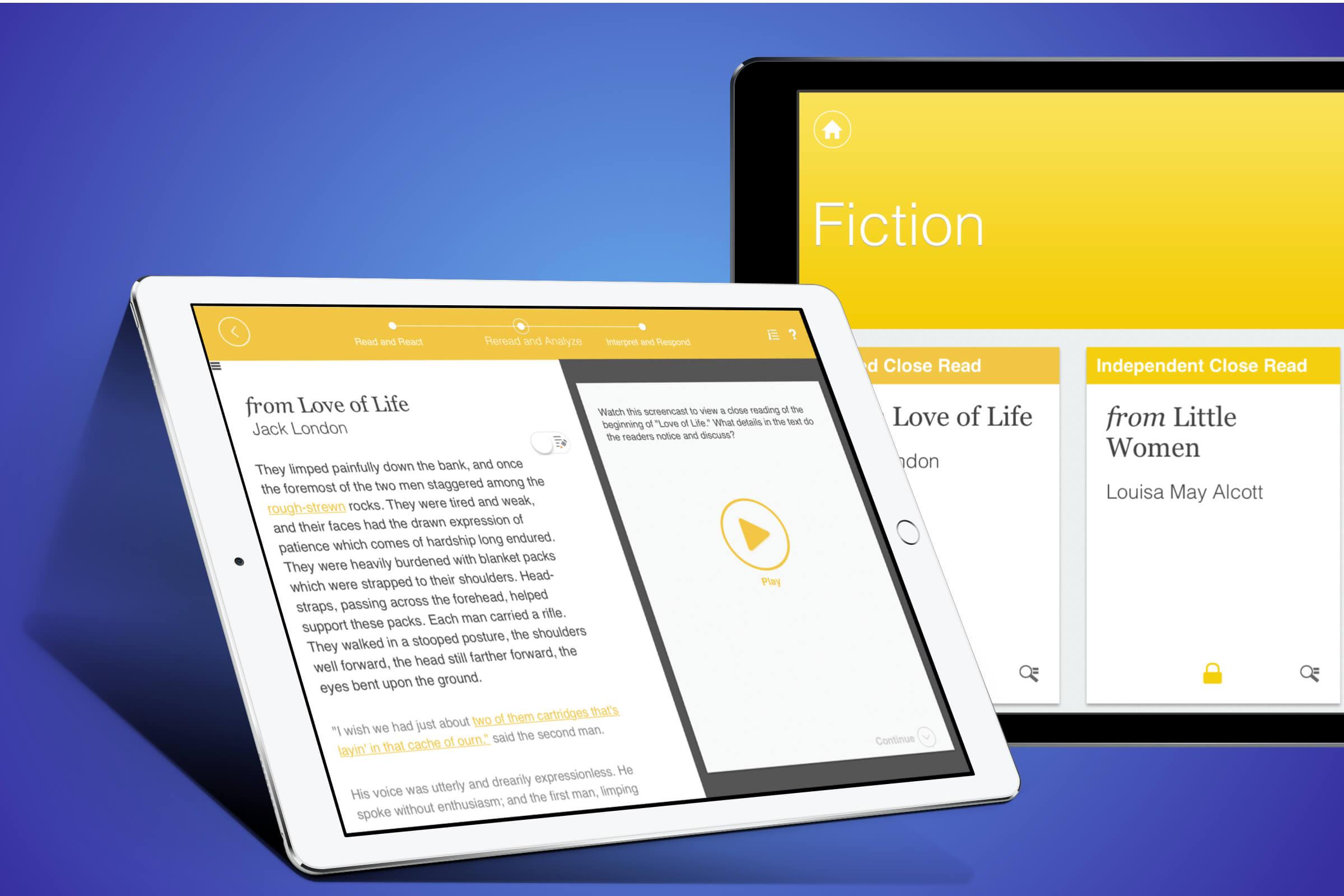 HMH Close Reads App