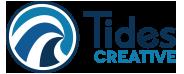 Tides creative logo