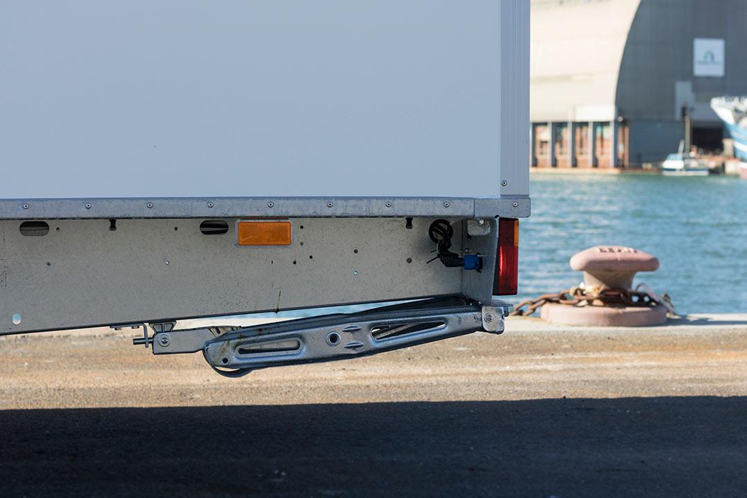 Scanvogn kontorvogn chassis
