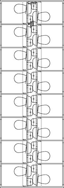 Scanvogn toilet 2i1 A
