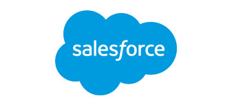 Saleforce CRM logo. Integration with Virtual Cabinet