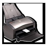 Xerox Documate 262, one touch, compact, desktop  scanner