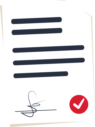 Digital signature document image 1