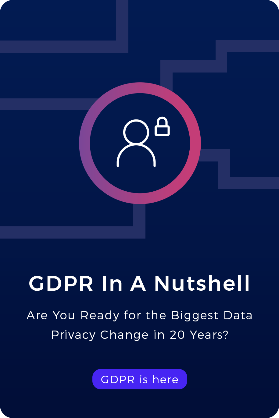 GDPR in a nutshell - ebook cover