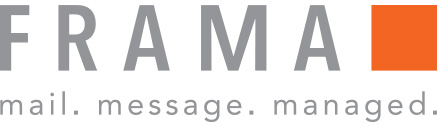 Frama UK: Secure email, franking machines & mailroom equipment - integrates with Virtual Cabinet - company logo