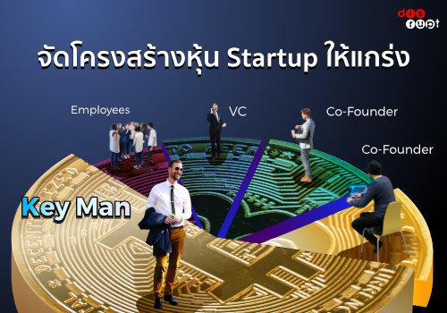 โครงสร้างการถือหุ้นและการจัดการใน Startup