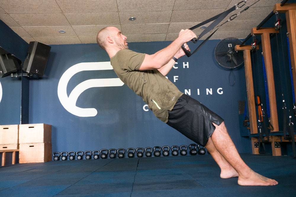TRX for surfing