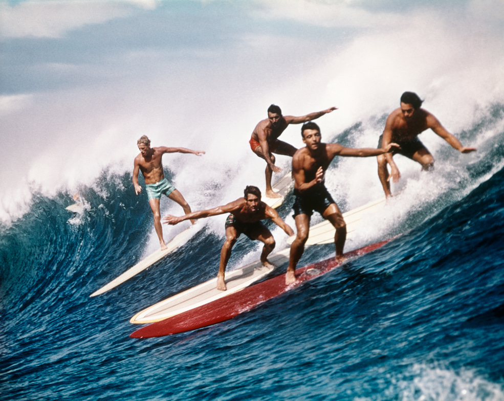 A consequence of the past - Is surfing too white?