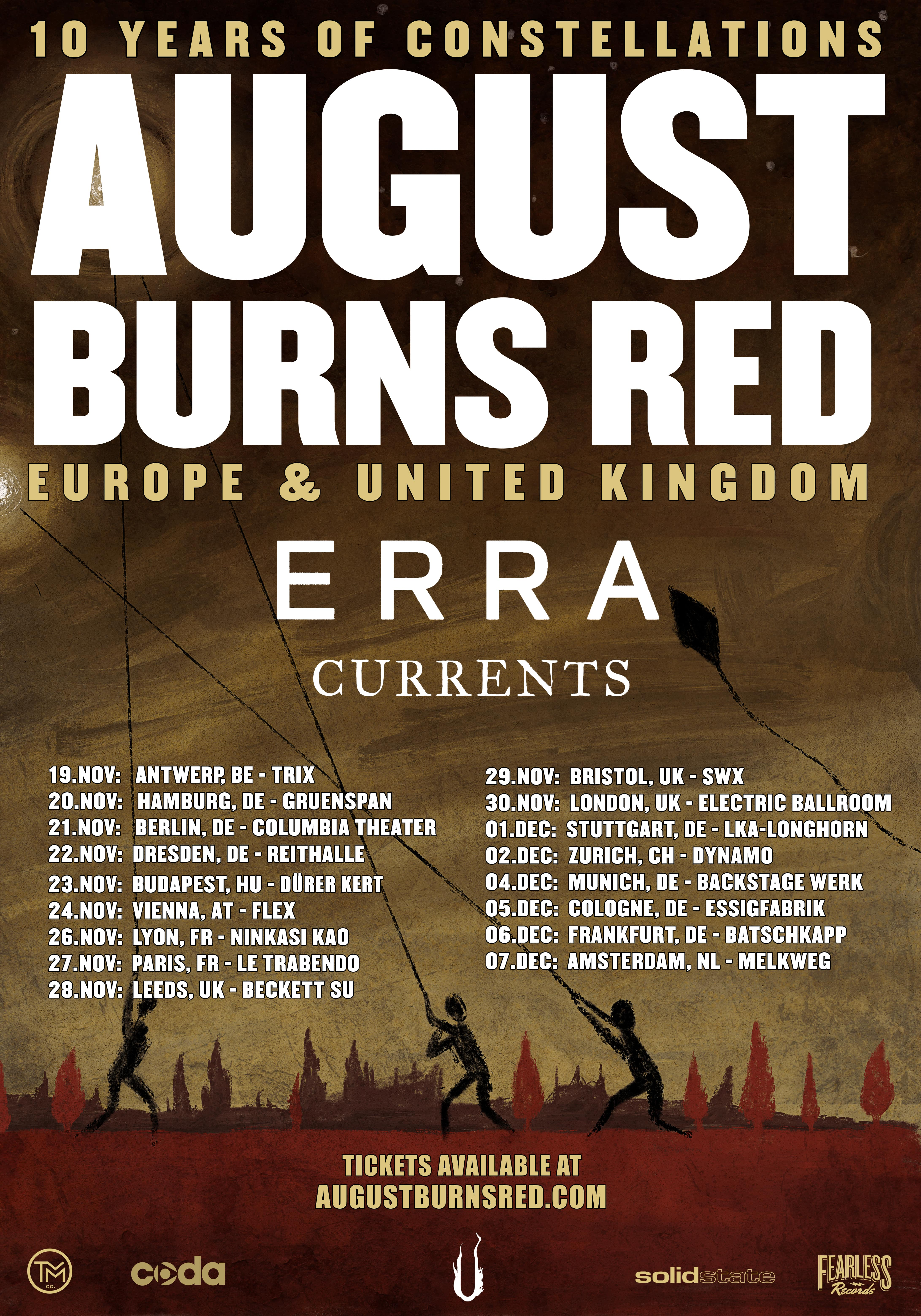 9426f72614c AUGUST BURNS RED - The Official Website