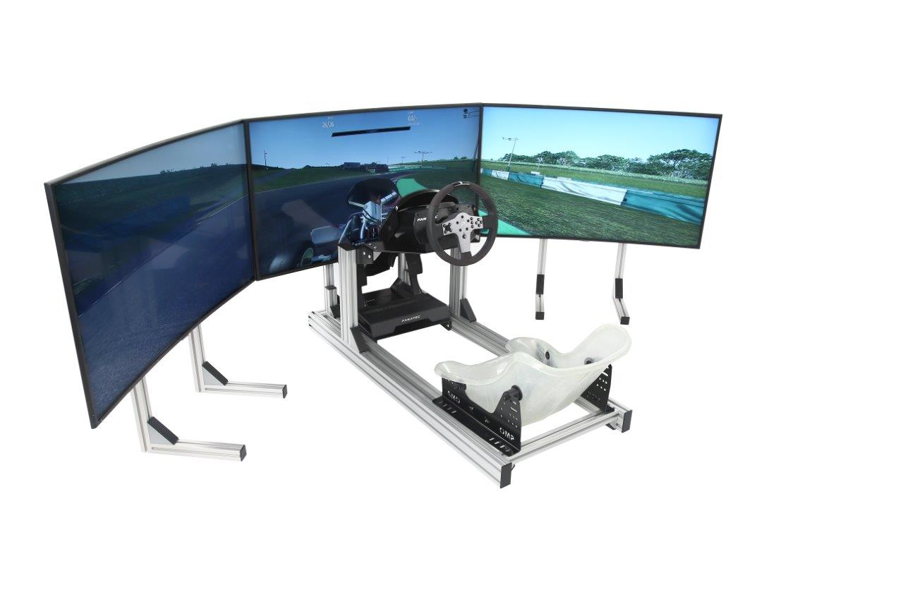 esports-simulator-triple-stands-kart-seat-fanatec-csl-triple-43-inch-4k-hd-screens