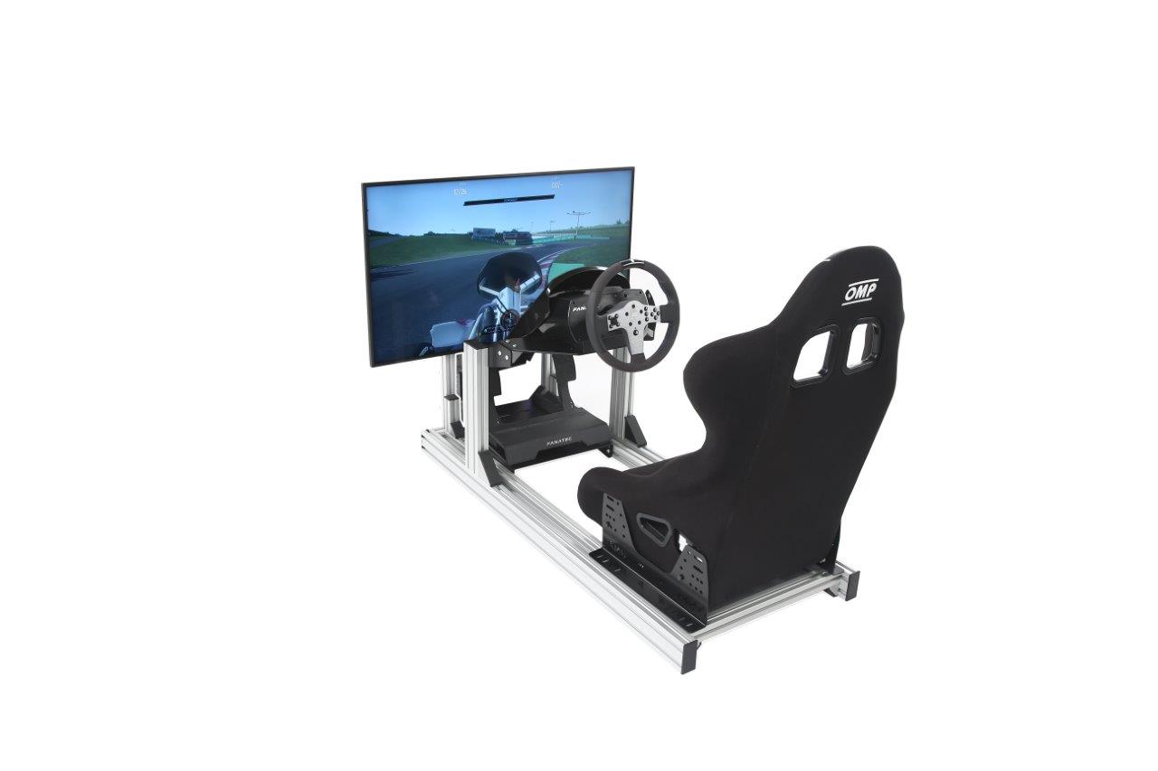 esports-simulator-single-stand-bucket-seat-fanatec-csl-single-43-inch-4k-hd-screen