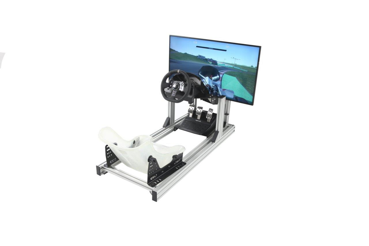 esports-simulator-single-stand-kart-seat-logitech-g920-single-43-inch-4k-hd-screen