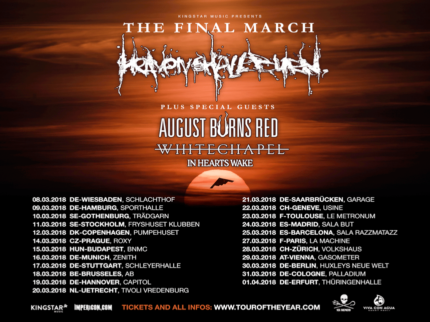 AUGUST BURNS RED - The Official Website