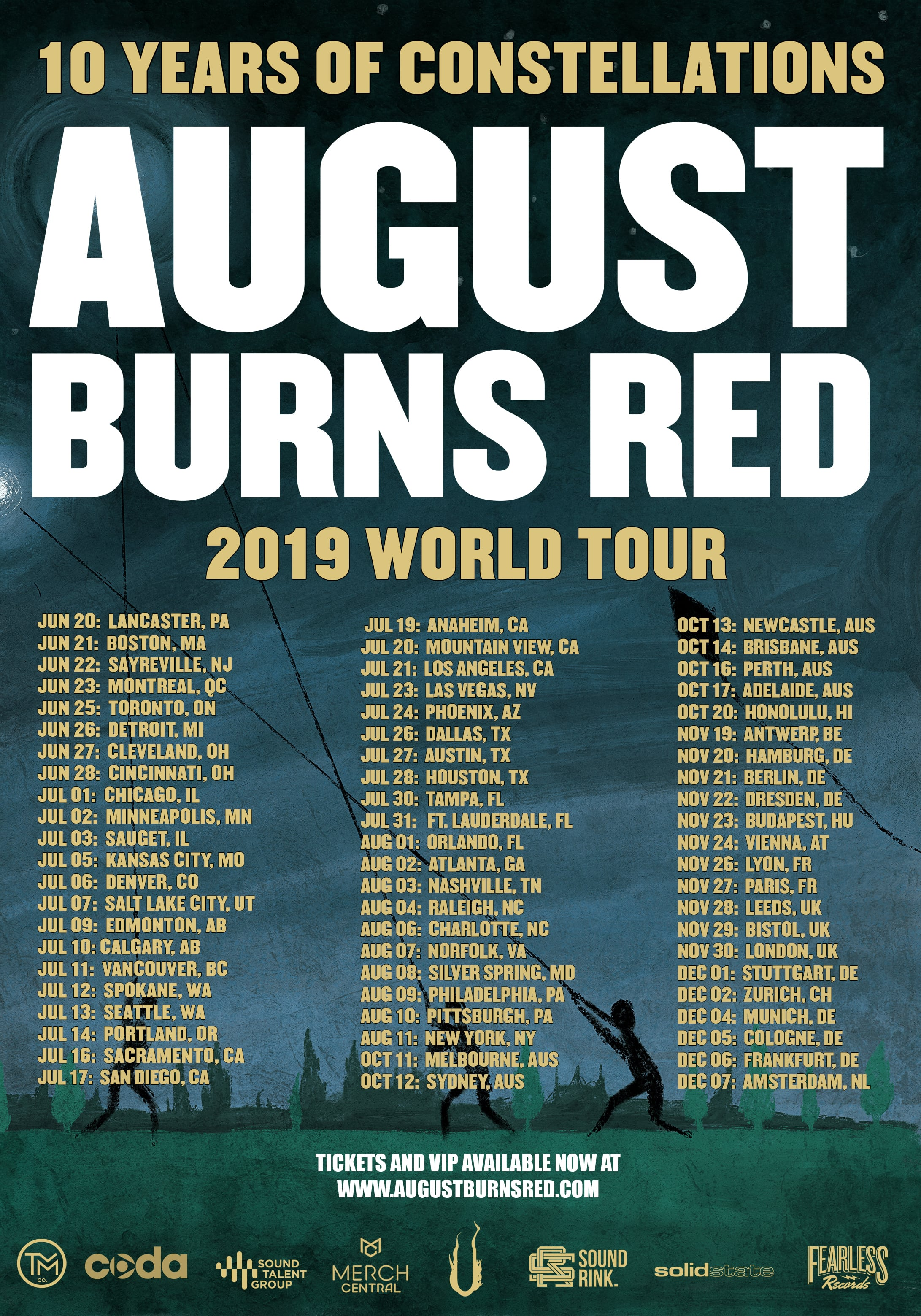 August Burns Red New Album 2020 AUGUST BURNS RED   The Official Website