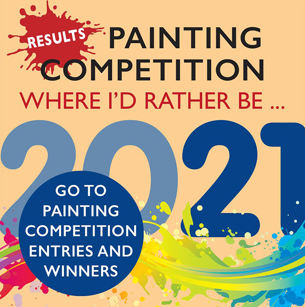 Painting competition - where I'd rather be