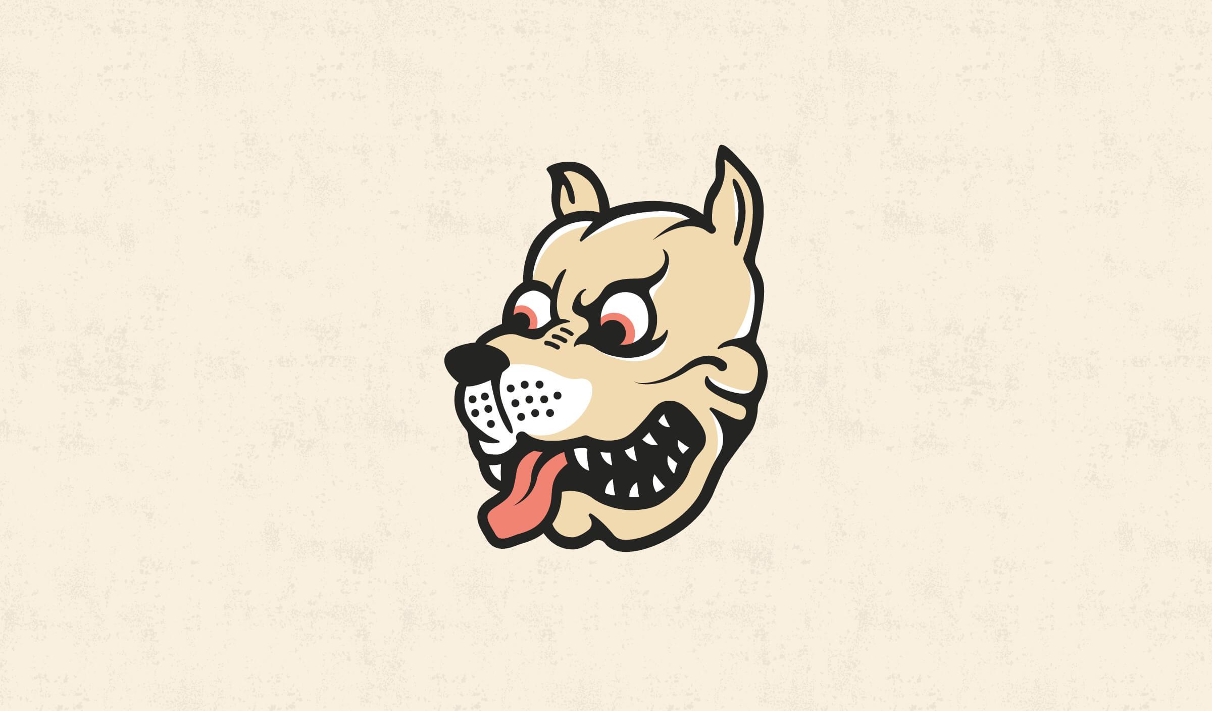 Mad Dog Brand Mascot