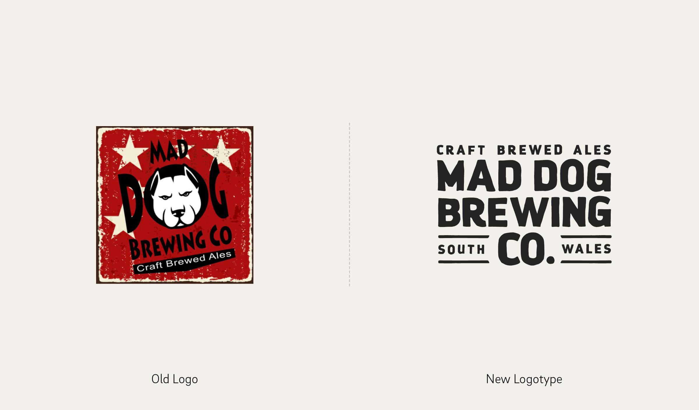 Mad Dog New Logo Design
