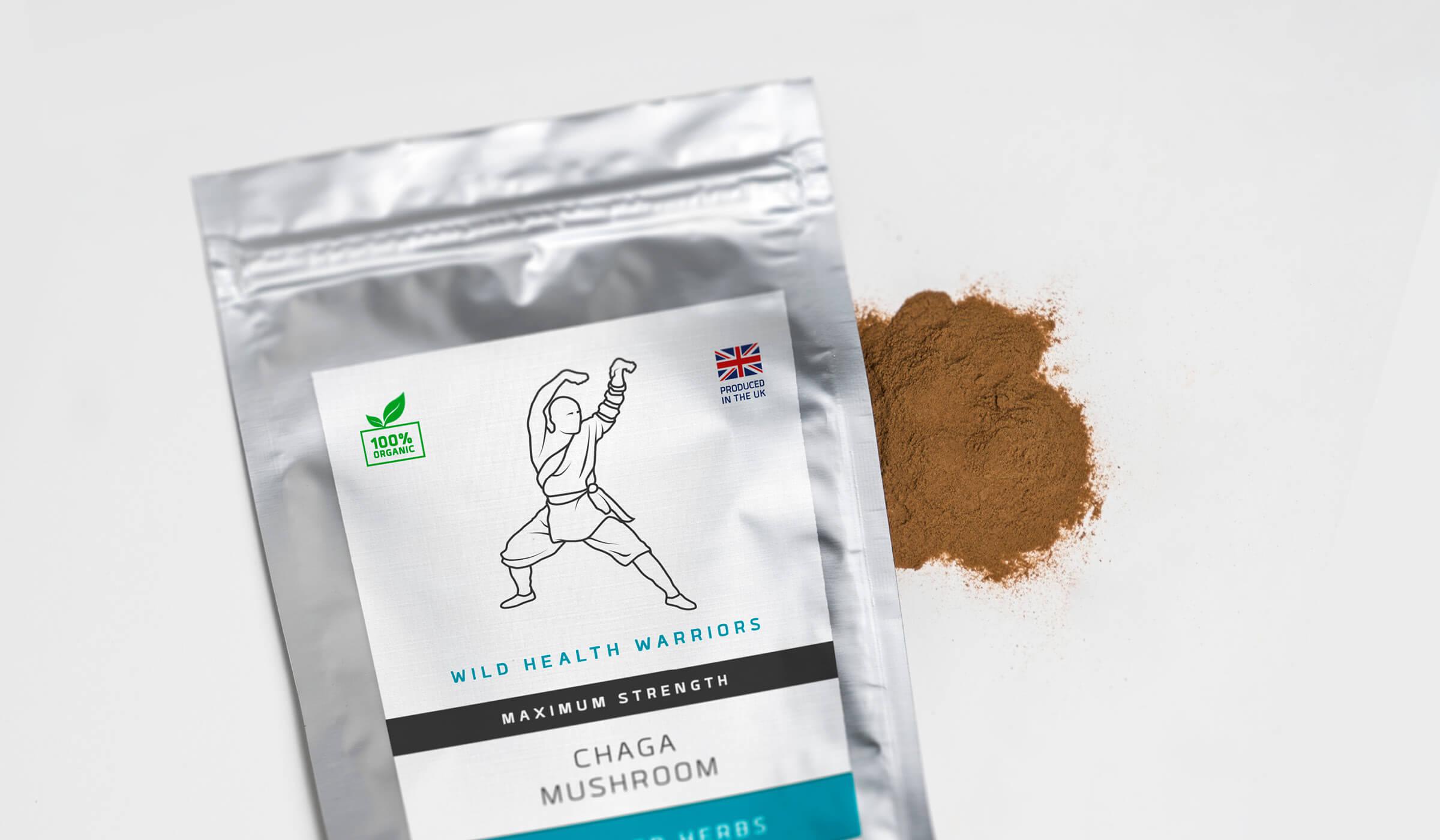Health supplements sachet packaging design
