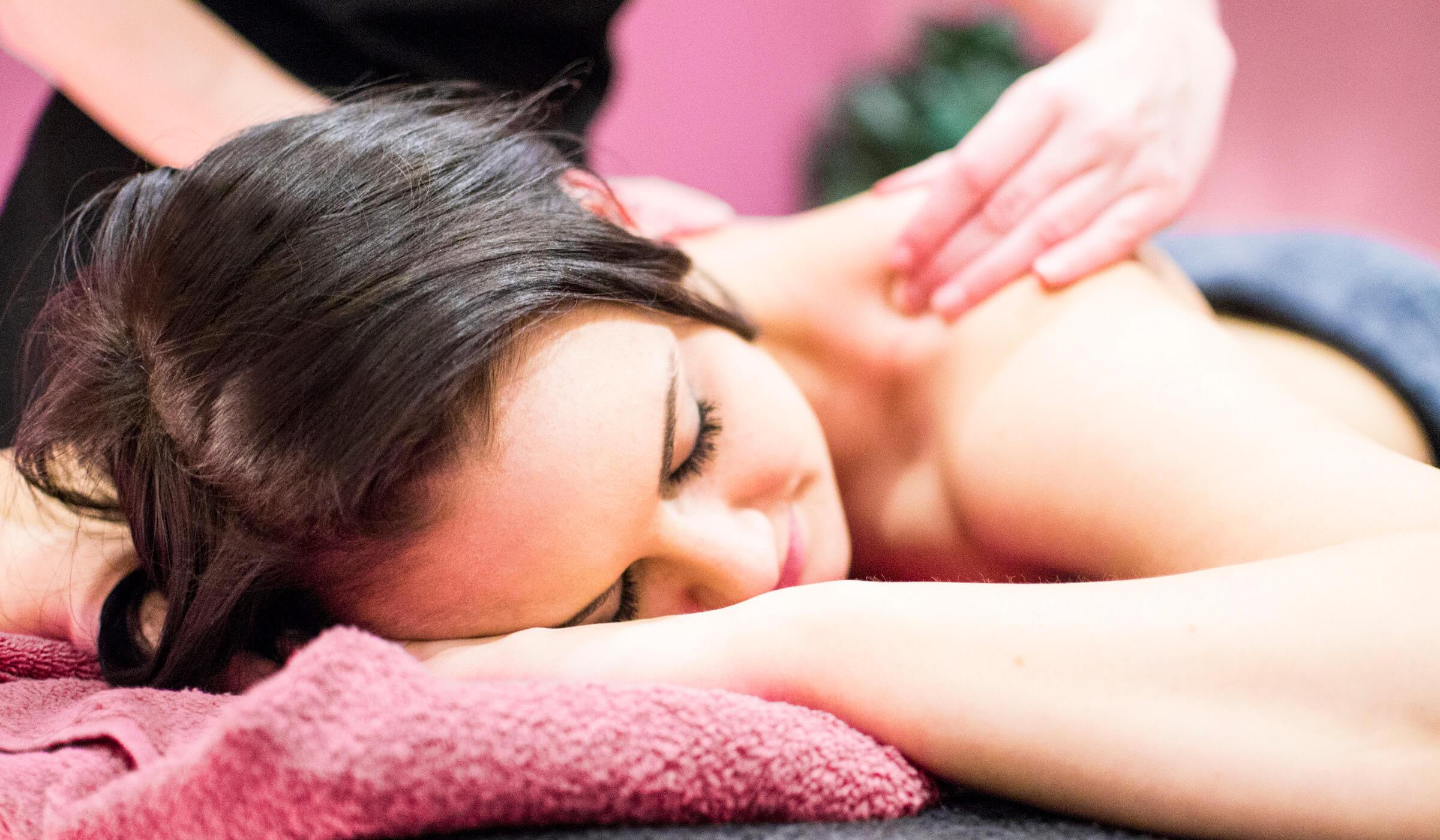 photo of massage treatment
