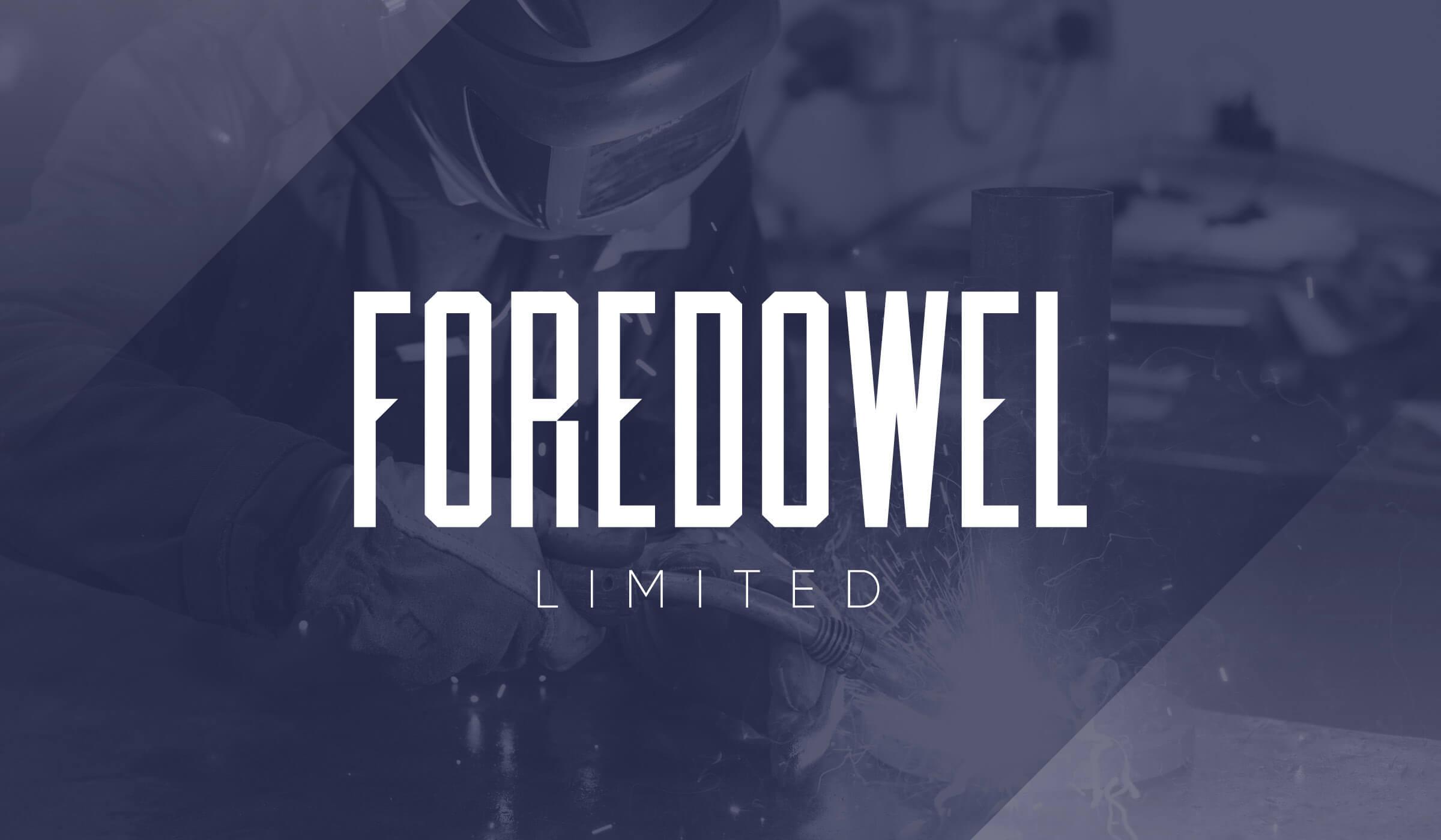 Foredowel logo design