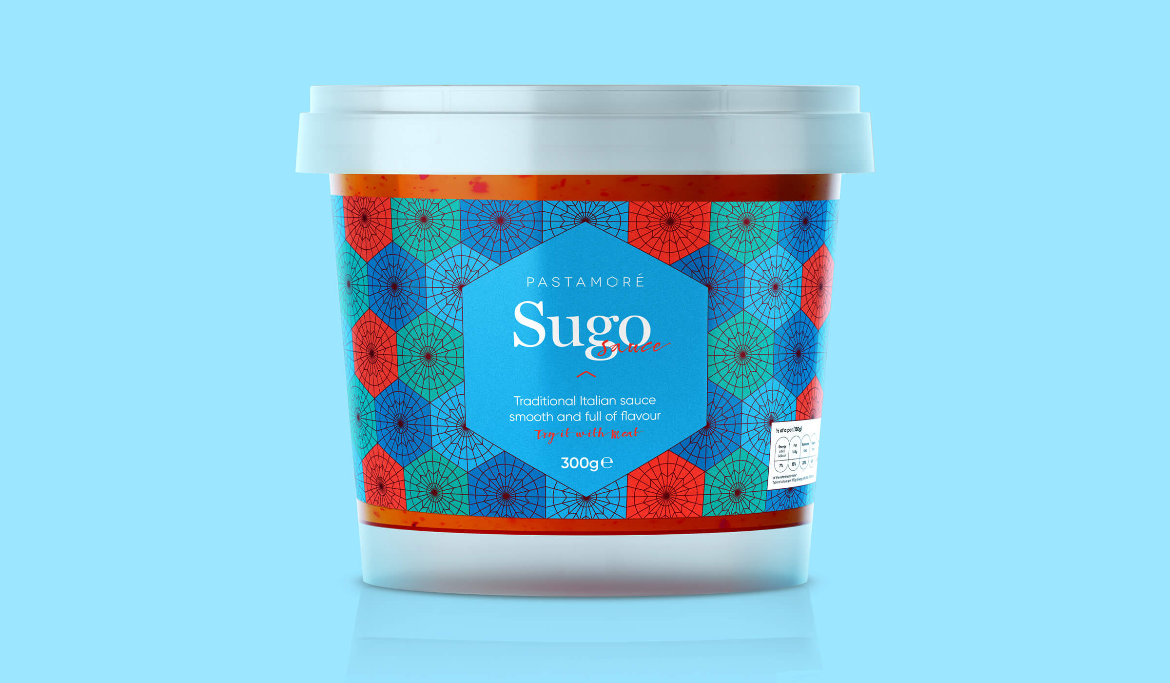 Pastamore Sugo packaging design