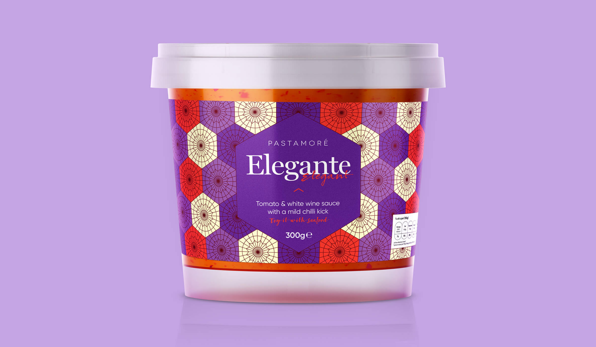 Pastamore Elegante packaging design