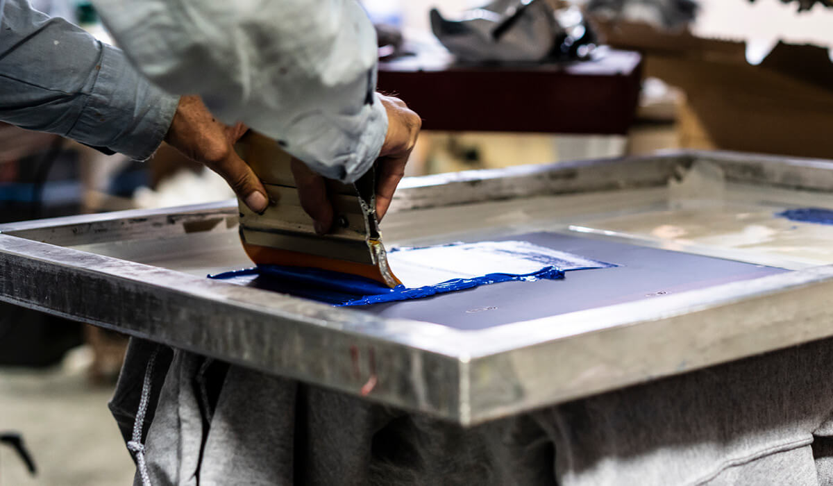 Photography of screen print
