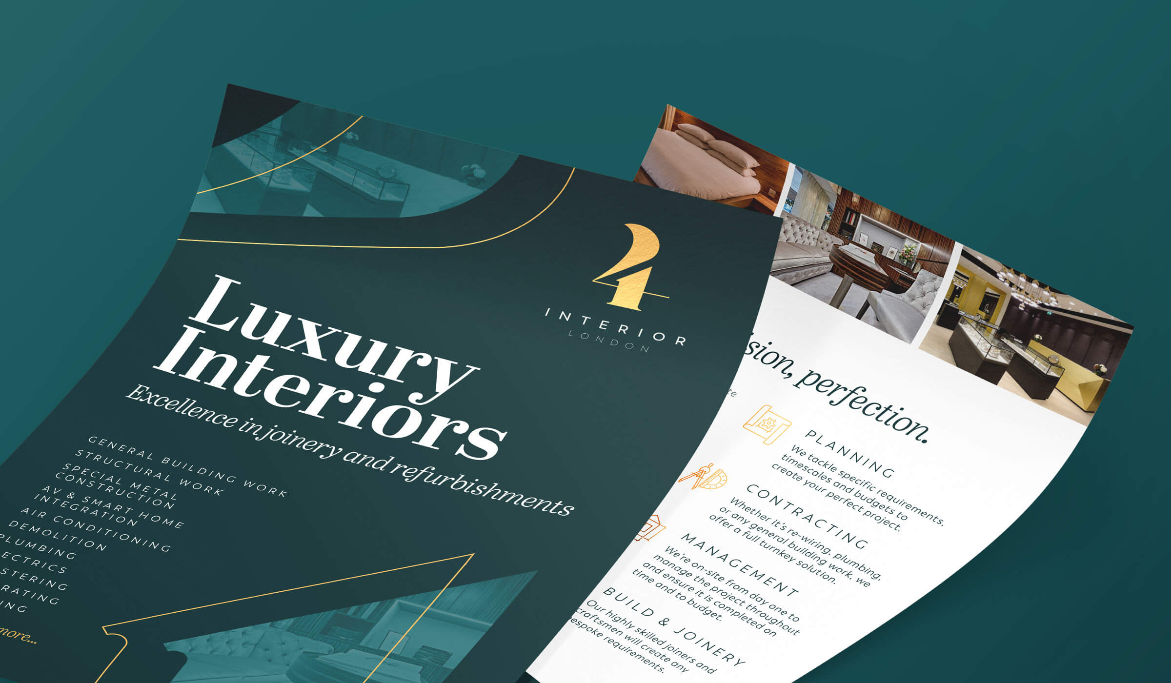 4Interior flyer design