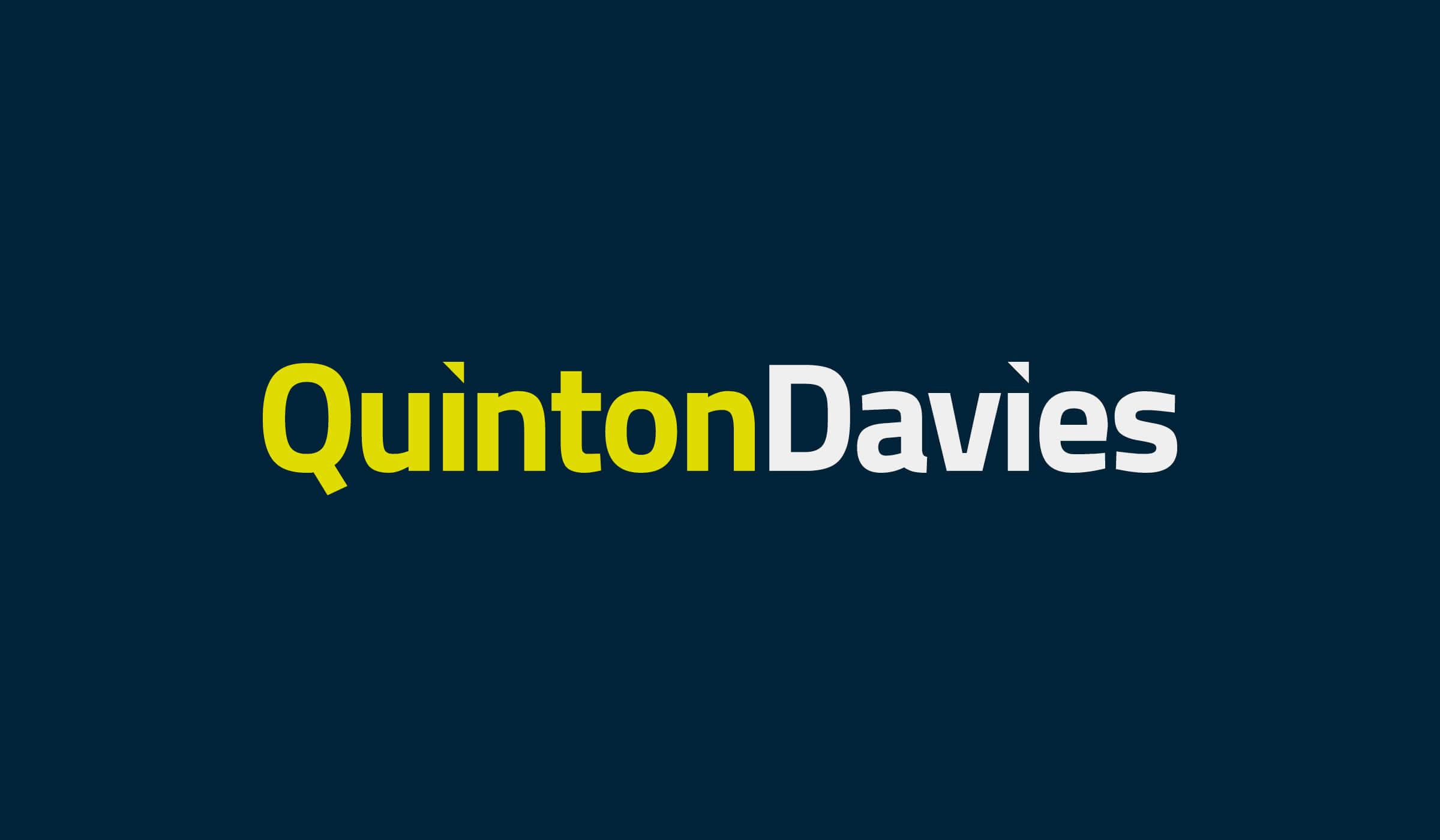 Quinton Davies logo design