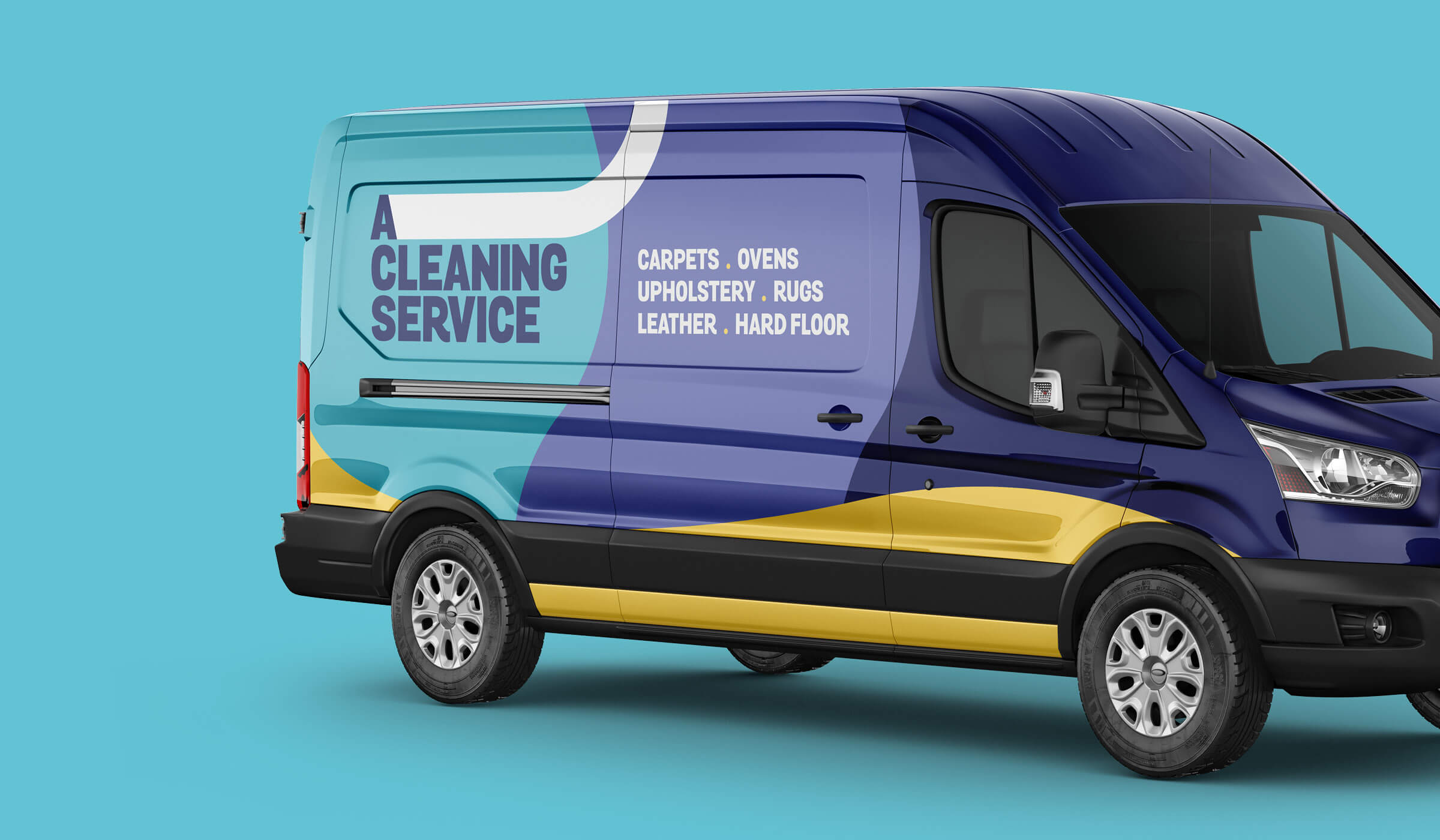 ACS van livery design