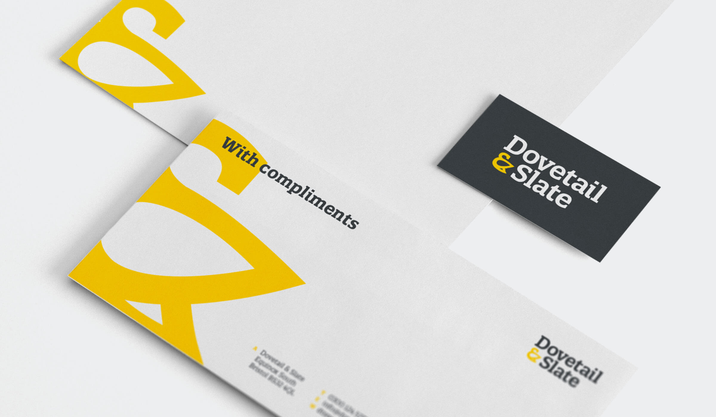 branded stationery design